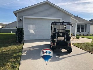 DARLING HOME WITH CART CLOSE TO POOLS AND MORE