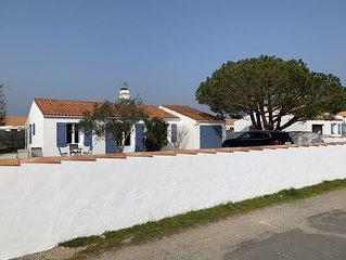 Maison renovee Ile de Noirmoutier (L'Epine), dans une impasse au calme, jardin !