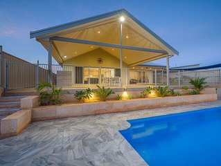 Marvellous Marina Home with a Pool and a Jetty