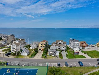 A Fun Location- Keep your distance But watch the activity from your front deck!