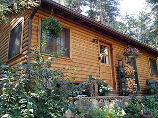 Canyon escape - cabin studio along Boulder Creek with complete kitchen #2