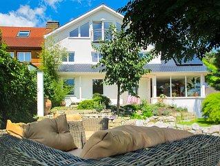 Schöne Ferienwohnung im Haus See- und Säntisblick EG mit WLAN, Terrasse, Garten,