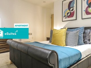 Tudors eSuites spacious and carefully designed 2 Bedroom apartment with free par
