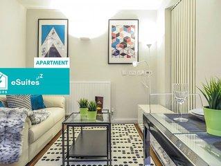 Tudors eSuites modern design one bedroom apartment in the heart of Jewellery Qua