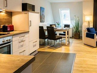 Norddeich Perle 3 - Fahrstuhl - exklusive Wohnung