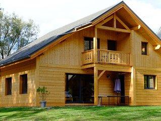 NOUVEAU : Chalet individuel en bois 12 personnes a Bourg d'Oisans / Alpe d'Huez