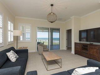 5th Floor Oceanfront Corner Unit 451 !! Incredible views up the coastline!!