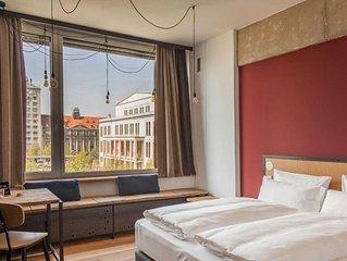 Suite S, ca. 30qm, 1 Wohn-/Schlafraum, für 2 Personen