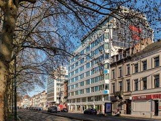Complexe d'appartements avec service hôtelier