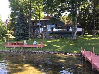 Beautiful 5 bedroom Clam Lake home with access to Torch Lake!