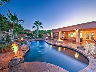 Private Desert Oasis w/ Saltwater Pool