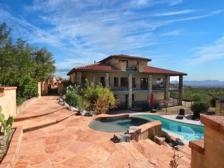 Beautiful Hacienda: Pool, Spa & Amazing views
