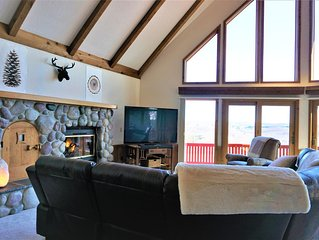 Scenic View Lodge - Large family home in Schuss/Shanty Creek Resort Complex