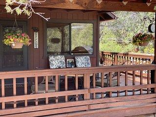 Relaxing Mountain Getaway, Rivers, Fishing, Trails, Waterfalls, Hiking, Cabin