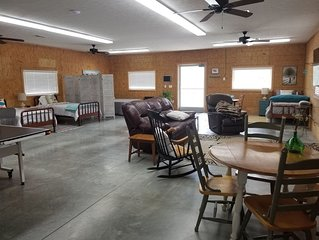 Farmhouse at D&F Farms, 1500 sq. ft and close to Lake Cumberland.
