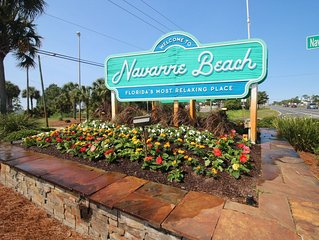 HIGHEST VRBO RATED ON NAVARRE BEACH ! 177 VRBO REVIEWS! - AVAILABLE NOW !