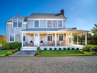 NEW LISTING! 4 Bdrm 3.5 bath in Tom Nevers w/ outdoor heated pool & ocean views!