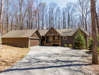 Fabulous NC mountain home with all desired amenities!