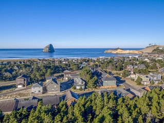 Spacious Pacific City 5-Bedroom has Modern Amenities and Forest Views, Close to