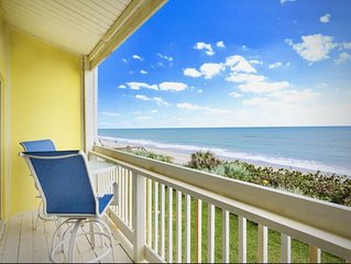 **Luxury OCEAN-FRONT townhome**  Stone throw to the waves- no beach restrictions