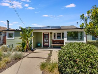 Capitola Village perfectly refurbished large beach bungalow-spring 20% discount!