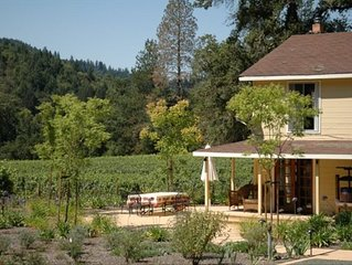 Private 60 Acre Wine Country Estate with a Pool and Vineyards