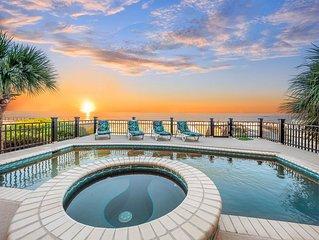 5 Singleton- Oceanfront w/Pool- Spa, Billiard Table & 3 Hole Putt Putt!