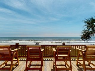 Brand NEW Spectacular Beachfront Beauty DRAGONFLY! 5BR incl.upstairs Loft, 4BTH