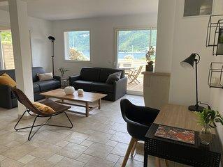 Maison bord du lac d Annecy avec vue