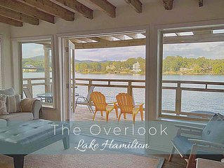 The Overlook at Lake Hamilton - Contemporary Design, Private Deck & Boat Slip!