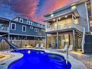 Perfect Surf City/Topsail Beach Location Vacation Home with Private pool!!!