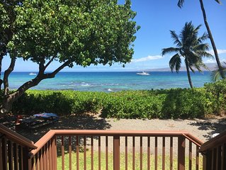 Private beach-front property, the perfect getaway! STVR REG. NUMBER: 19-365090.