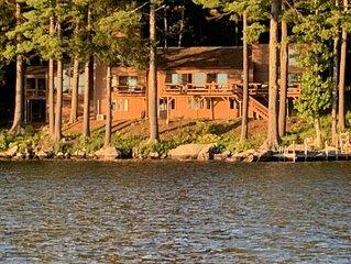 BEAUTIFUL WATERFRONT HOME ON LAKE WINNIPESAUKEE!!