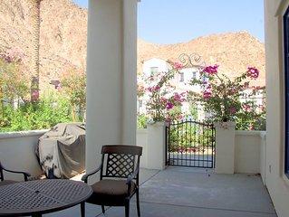 Legacy Villa #5  Mountain and pool view: 3  BR, 3  BA Condominium in La Quinta,