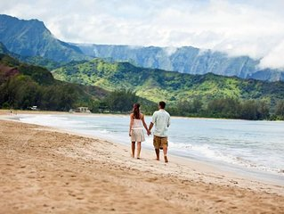 Ultimate Kauai Adventure Awaits! Lovely 1BR Suite for 6 Guests, Close to Beach!