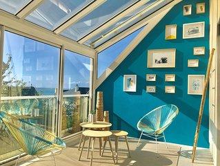 [NOUVEAU] Maison confortable avec vue sur mer à 100 mètres de la plage