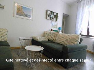 Gite LE COTY 3 Etoiles-  250 m de la mer- 2 Chambres -4 Personnes