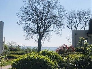 2 Zi-Appartement zwischen Strand und Golfplatz mit Meerblick