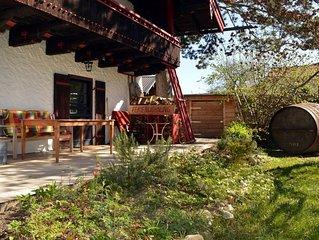 Gemutliche, hochwertige Ferienwohnung mit grosser Sudterrasse & Grillmoglichkeit