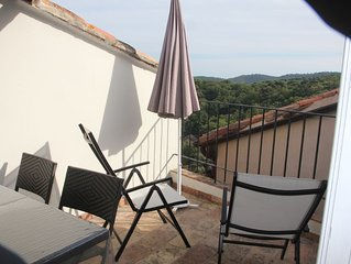 Maison de charme du village de Ramatuelle golfe de St Tropez