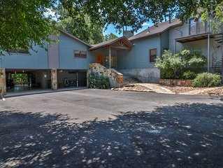 Luxury home on Comal River w/ Private Access! Next to Schlitterbahn & Downtown!