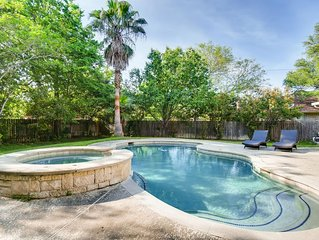 Tranquil Round Rock Escape - Heated Pool and Spa
