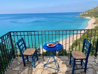 Tolles Ferienhaus mit Traumblick am Potami Strand - Villa Katarina -