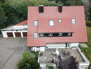 Komfortable Ferienwohnung, 110 m² + 60m² Sonnenterrasse