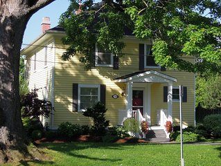 A 4 Bedroom Vacation Rental with Heated Pool in Old Town Niagara on the Lake.