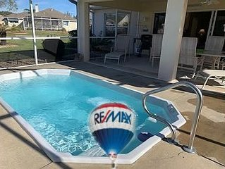SWIM SPA CORNER LOT GOLF CART GREAT LOCATION
