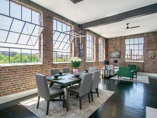 The Rail Yard Loft On Morris, Downtown Birmingham!