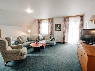 Gemütlich eingerichte Suite ( ca. 110 qm) mit Küchenzeile und Balkon