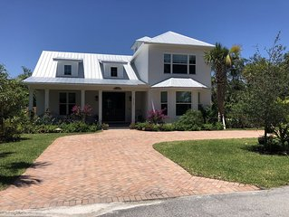 Newly Built Florida Cottage Style Home - Intercostal Access, Close to Beach