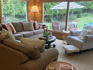 Updated Retro Retreat! Indoor & Outdoor Fireplace, Backyard Oasis With Waterfall